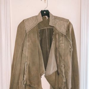NWT Free People Green Jacket